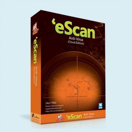 آنتی ویروس موبایل e-scan
